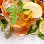 Glass of iced tea — Stock Photo #48108955