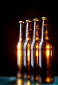 Bottles of beer  — Stock Photo