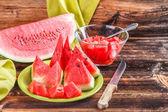Still life of watermelon — Stock Photo