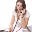 Business woman in office — Stock Photo #5127195