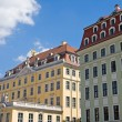 Restored buildings in Dresden — Stock Photo