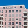 New pink townhouse — Stock Photo