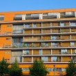 Modern building with balconies — Foto de Stock