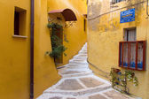 Small alley in Chania — Stock Photo