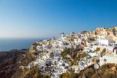 Oia on Santorini island — Stock Photo