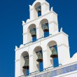 Belltower of a church in Oia — Stock Photo