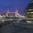 London City Hall and Tower Bridge — Stock Photo #18008679