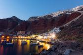 The port of Ammoudi — Stock Photo