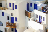 Typical house on the Cyclades — Stock Photo