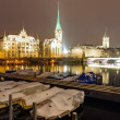 Winter night in Zurich — Photo #19694833