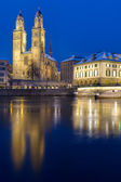 The Minster in Zurich — Stock Photo