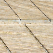 Detail of the old Panathenaic stadium — Stock Photo