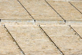 Detail of the old Panathenaic stadium — Stock Photo