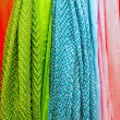 Colourful drapery — Stock Photo