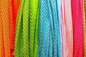 Tendaggi colorati — Foto Stock