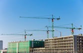 Construction site in Berlin — Stock Photo