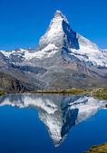 El matterhorn en suiza — Foto de Stock