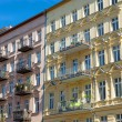 Nice restored houses in Berlin — Stock Photo