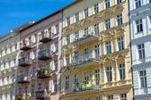 Nice restored houses in Berlin — Stock Photo