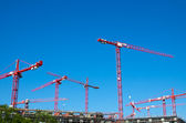 Big construction site in Berlin — Stock Photo