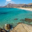 Lovely beach on Crete island — Stock Photo