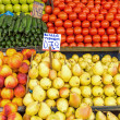 Piles of fruits — Stock Photo