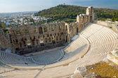 Antiguo teatro en atenas — Foto de Stock