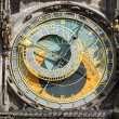 The famous astronomical clock in Prague — Stockfoto