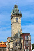 The old town hall in Prague — Stock Photo
