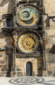 Pragues astronomical clock — Stock fotografie