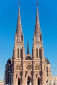 The basilica of Lujan — Stock Photo