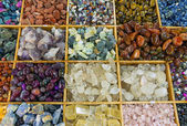 Colourful gemstones — Stock Photo