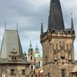 Towers in Prague — Stock Photo