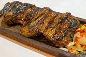 Grilled argentinean steak — Stock Photo