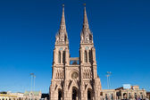 The cathedral of Lujan — Stock Photo