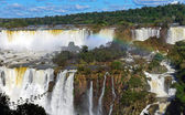 The wonderful Iguazu waterfalls — Stock Photo