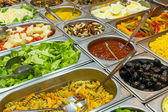 Colourful buffet — Stock Photo