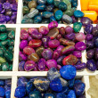 Selection of semiprecious stones — Stock Photo