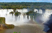 View of the Iguazu Falls — Stock Photo