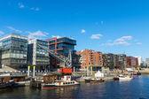 View of the Hafencity in Hamburg — Stock Photo