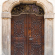 Old massive door — Stock Photo