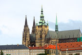 The Saint Vitus cathedral in Prague — Stock Photo