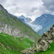 Landscape in the Swiss alps — Stock Photo
