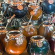 Stock Photo: Calabash mate cups