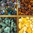 Stock Photo: Background from semi-precious stones