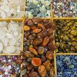 Semiprecious stones background — Stok fotoğraf