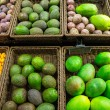 Various fruits on a market — Stock Photo #35507705