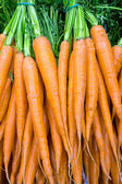 Carrots at the grocery — Foto Stock