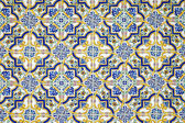 Typical andalusian tiled wall — Stock Photo