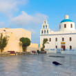 Church and main square in Oia — Stock Photo #37630267